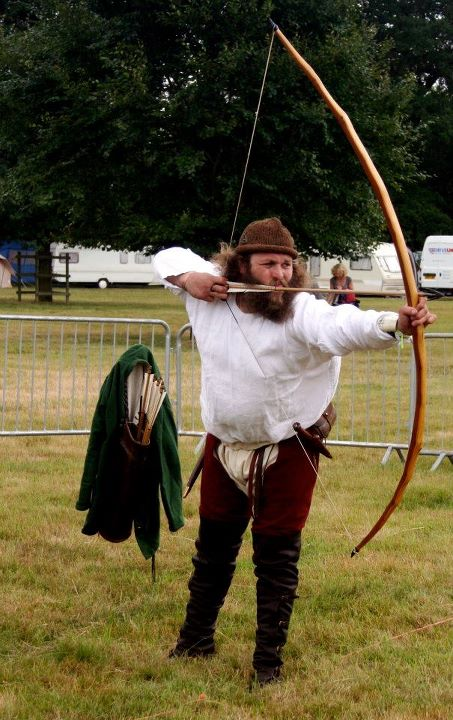 middle ages longbow