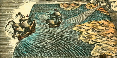 However In The 19th Century It Was Widely Reported That People Middle Ages Thought Earth Flat Because Made