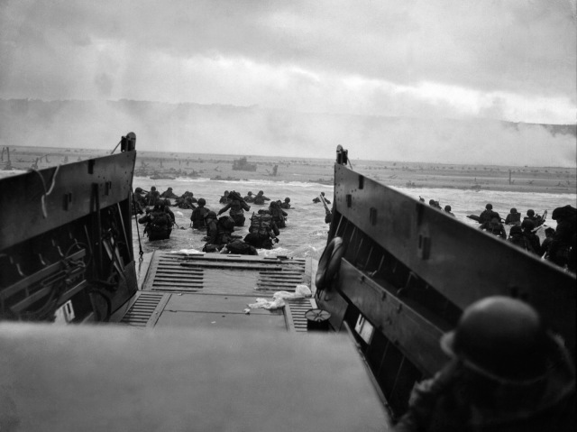 US Troops On D-Day